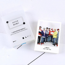 45pcs/Set Kpop BTS Lomo Cards BANGTAN BOYS HD Photocard SUGA J-HOPE JIMIN Fans Gift Collection For Star Concert Party YLM9251(China)