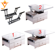 foldable and extendable coffee table mechanism with high quality and competitive price B09