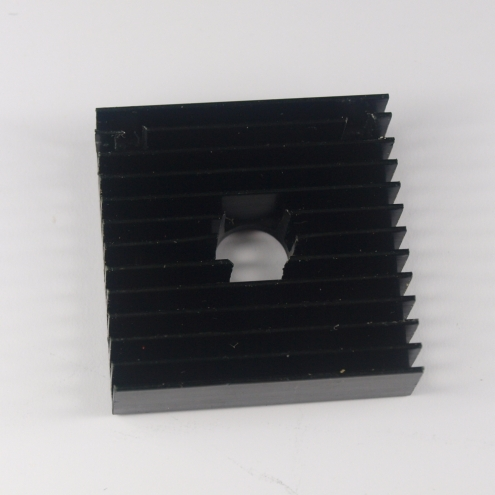 3D printer accessory DIY aluminium alloy cooling fin HEAT SINK  40mm*40mm*11mm centre hole 10.3mm top quality free shipping<br><br>Aliexpress