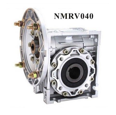 3pcs/lot NMRV040 Worm Reducer 7.5:1 - 100 :1 Ratio 11mm 14mm input shaft Nema 34 Worm Gearbox Speed Reducer<br>