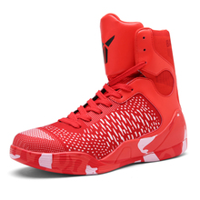 Basketball Shoes Men Outdoor Sports Sneakers Basket Homme Indoor Training DMX Air High Tops PU Leather Breathable Zapatillas Men(China)