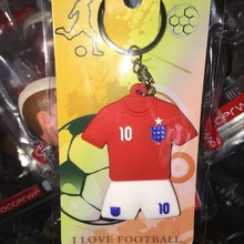 Miniverse 2016 Europe Soccer Star 10 Rooney Kit  Doll Accessories ( England Soccer Fans Gift) Red