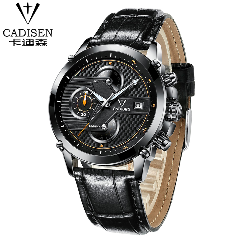 CADISEN Mens Military Style 2016 Business Watch Casual Mens Watches Top Brand Luxury quartz-watch Wristwatches relogio masculino<br><br>Aliexpress