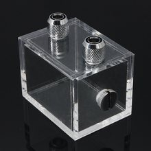Brand New 220ml Water Block Acrylic Water Tank Cooler Water Cooling Radiator for Pc Cpu(China)