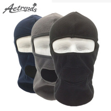 [AETRENDS] Winter Fleece Balaclava Breathable with Mash Mouth Full Face Mask Cycling Masks Hoods Hats Z-3981A()