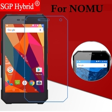 Screen Protector 100% Original 9H Premium Tempered Glass capa For NOMU S10 S30 Smartphone Protector Phone Protective Film Case(China)