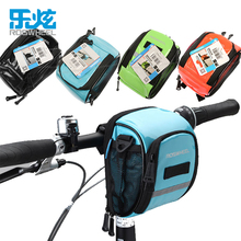 ROSWHEEL Cycling Bike Bicycle Front Frame Tube Handlebar Holder Pannier Pouch Case Bag(China)