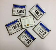10pcs a lot Cheap price 128MB CompactFlash Industrial CF Compact Flash card OEM Digital memory card