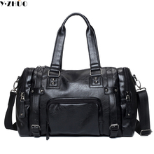 Men's Travel Bags Brand luggage Waterproof suitcase duffel bag Large Capacity Bags casual High-capacity leather handbag