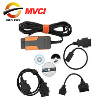 MVCI 3 IN 1 High Performance V10.10.018 for TOYOTA TIS Factory Diagnostics tool multi-language DHL free