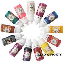 Epoxy Color UV Resin Coloring Dye Colorant Gel Resin Pigment DIY Handmade Crafts Art Crafts 8color(China)