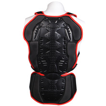 Motorcycle Dirt bike Sport Gear ARMOR BACK PROTECTOR Waist Vertebra Drop Resistant Protective Riding Jersey Motobiker Jackets(China)