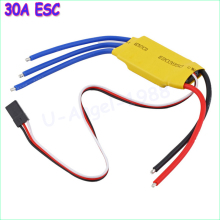 Wholesale 1pcs RC BEC 30A ESC Brushless Motor Speed Controller(China)