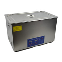 600W 30L Protable Stainless Steel Digital Ultrasonic Cleaner Ultra Sonic Cleaning Machine Heated Local Fast Shipping(China)