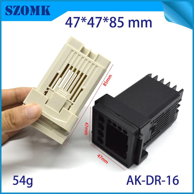 szomk plastic din rail enclosure PLC plastic box for electronics project instrument case junction box (4)