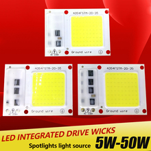 LED COB Lamp Chip 5W 15W 25W 35W 50W 220V Input Smart IC Driver Fit For DIY LED Floodlight Spotlight Cold White Warm White(China)