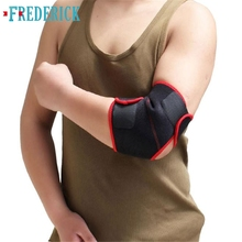 2017 New Men Elbow pads Arm Band Protected Boys Basketball Tennis Support Outdoor Sports Elbow Guard Protector feb23