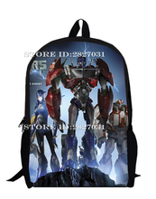 Transformers Backpack for Teenagers Children Bumblebee Optimus Prime School Bags Boys School Bags Men Daily Bag Women