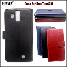 Buy PIERVES R64 Series high PU skin leather case HomTom S16 Case Cover Shield for $4.03 in AliExpress store
