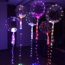 Light Up Clear Balloon String Light Wedding Christmas Halloween Party Decoration(China)