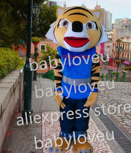 kungfu tiger Mascot Costume custom fancy tiger costume anime cosplay kits mascotte theme fancy dress carnival costume