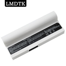 LMDTK WHITE laptop battery For Asus Eee PC 901 904 904HD 1000 1000H 1000HA  AL23-901 AL22-901 AP23-901 6CELLS Free shipping