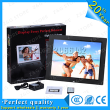 HD Electronic Digital Photo Frame 14 inch Digital Picture Frame LED Screen With Clock Slideshow Calendar Support USB SD Card