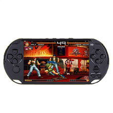 5 inch big screen X9 handheld video console Street Fighers Final Fight game player for GBA NES game with 10000+free games(China)