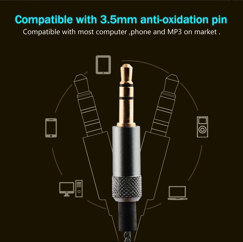 Original TY Hi-Z HP150 Portable Earphone High Sensitive Enduring Earbud Wired In-ear HiFi Flat Head Earphone Without Microphone