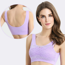 Crop Top Type Lace Bralette Push Up Bra Cotton Silk Solid Color Bras Seamless Leisure Brassiere Ultra Boost Sexy Soutien Gorge