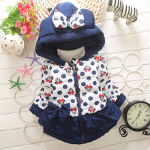 Baby Girls Jackets 2017 Autumn Winter Jacket For Girls Infant Coat Kids Children Warm Outerwear Coats Girls Clothes