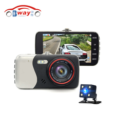 Original 4.0 Inch IPS Screen Car DVR Recorder Car Camera Dual lens Dash Camera Full HD 1080P Video 170 Degree DVR Dush Camera(China)