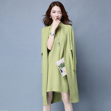 Buy Winter Autumn Women Sweater Dresses Long Sleeve Knitted Wool Sweater Dress Female Straight Dress Woman Clothing 2PCS Y1027-145F Orders, 56458) for $48.87 in AliExpress store