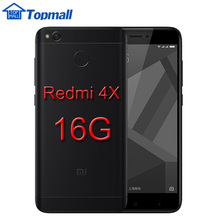 "Original Xiaomi mobile phone Redmi 4X 2GB 16GB phone Snapdragon 435 Fingerprint ID Metal Body 4100mAh Battery 5.0"" google store"