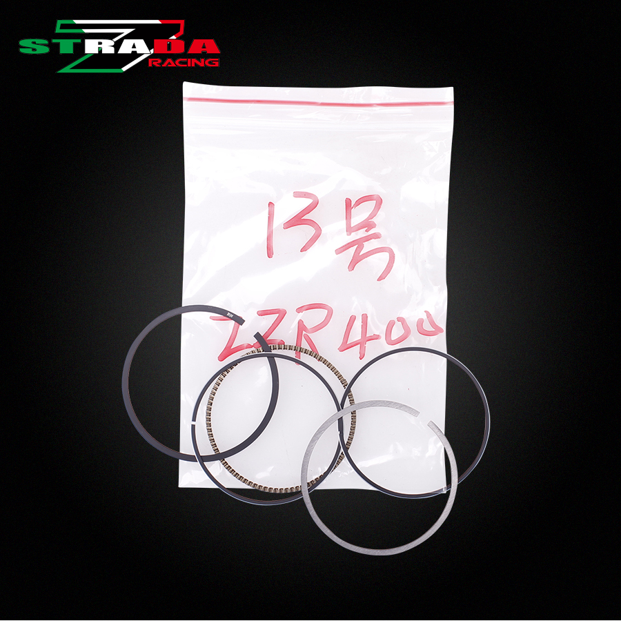 Engine Cylinder Part Piston Rings Kits For Kawasaki ZZR400 ZRX400 ZZR ZRX Motorcycle Accessories(China)