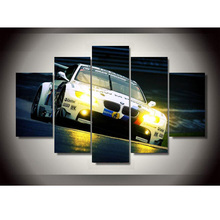 New Style BMW Spuer Sports Car Oil Painting Wall Art Paintings Home Decoration Poster Printings On Canvas Unframed Pictures
