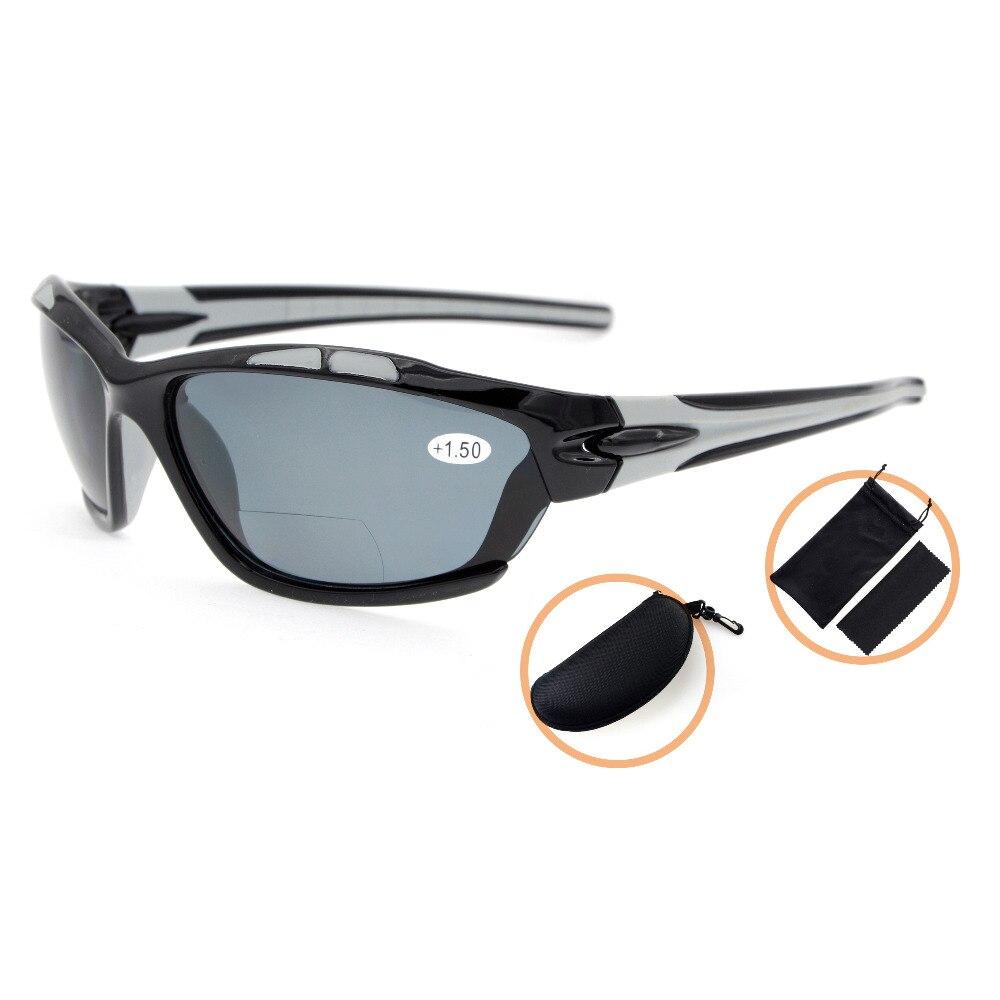 TH7007PGSG Eyekepper TR90 Unbreakable Sports Polycarbonate Polarized Bifocal Sunglasses +1.50/+2.0/+2.5<br><br>Aliexpress