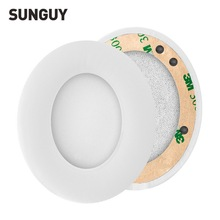 SUNGUY White 1 Pair Replacement Ear Pads for Beats Headphone Studio 2.0 Protein Soft Foam Cushion Earpads