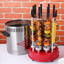 Freeshipping electric Home Rotate party family Barbecue BBQ Grill