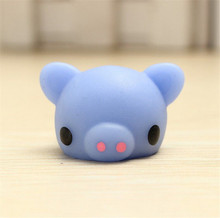 1 PCS Cute Pig Squishy Slow Rising Kawaii Mini Mochi Bunny cell Phone Strap Squeeze Stretchy Pendant Bread Cake Kids Toy Gift