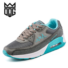 DQG Womens Running Air Mens Athletic Sports Sneakers Women Running Shoes Damping Jogging Shoes Men Spring Ladies Sport Trainers