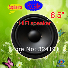 6.5 inch HIFI home system audio Midrange speaker , HIFI PA Midarange louder speaker, KARAOK Home Woofer box DIY(China)