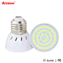 Ampoule LED E27 Light Bulb 220V 4W 6W 8W High Brightness SMD 2835 E27 LED Light Emitting Diode Spotlight Lamp No Flicker