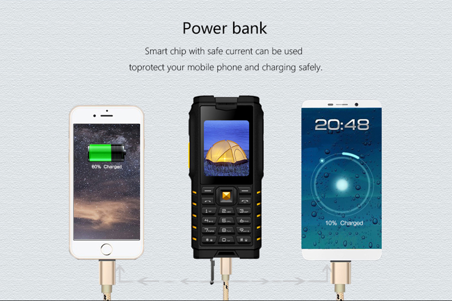 Walkie talkie mobile phone (1)