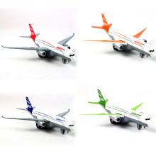 Airbus Aircraft Model Alloy Materials Kids Toys Airbus A350 Diecast Aircraft Collection Toys(China)