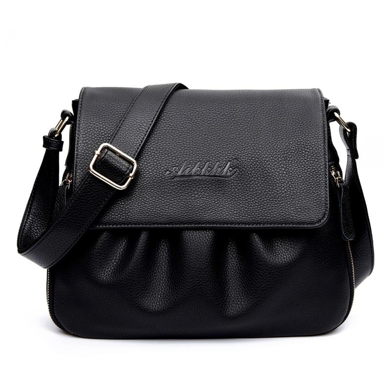 Lady Style Fashion Genuine Leather Women Handbags Vintage Women Shoulder Bags Women Crossbody Messenger Bag Evening Clutches Bag<br>