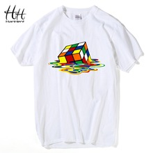 HanHent The Big Bang Theory T-shirts Men Funny Cotton Short Sleeve O-neck Tshirts Fashion Summer Style Fitness Brand T shirts(China)