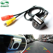 Free Shipping, 4 Layer Glass Lens Auto Night Vision Reverse Backup Camera Car CCD Rear View Camera For Car DVD Parking Monitor