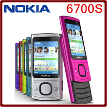 Original 6700s NOKIA Mobile Phone Camera 5.0MP Bluetooth Java Unlocked 6700 slide Phone(China)