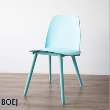 Muuto Nerd Chair Denmark Design Modern Classic Replica Plastic Dining Chair Loft Chair Meeting waiting chair